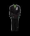 Fighter`s World PYTHON Brazilian Jiu Jitsu Anzug A2 schwarz/grün (Bild-1)
