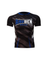 Rayben Zero Rashguard Kurzarm schwarz/blau (Bild-1)