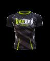Rayben Zero Rashguard Kurzarm schwarz/grün (Bild-1)