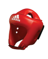 adidas ADIBH04 - Kopfschutz adistar Boxing, Farbe rot  Gr. M, CE (Bild-1)