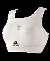 adidas Brustschutz WKF komplett Set S weiß adi666.14 (Bild-1)