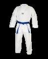 TaeKwonDo Anzug Ribbed weißes Revers (Bild-1)