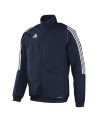 adidas T12 Team Jacket men Gr.14 blau XXXL adi X12737 (Bild-1)