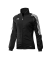adidas T12 Team Jacket WOMAN Gr.38 schwarz +S adi X13514 (Bild-1)
