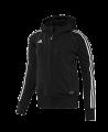 adidas T12 Team Hoodie WOMAN schwarz adi X13649 (Bild-1)