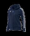 adidas T12 Team Hoodie WOMAN Gr.44 blau L adi X13651 (Bild-1)