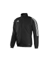 adidas T12 Team Jacket Youth Gr.152 schwarz M adi X34277 (Bild-1)