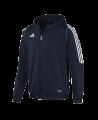 adidas T12 Team Hoodie men Gr.08 blau L adi X13152 (Bild-1)