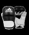adidas Training Grappling Glove schwarz weiss size L ADICSG061 (Bild-1)