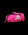 adidas Sporttasche Karate 2 in 1Bag shock pink/silver ADIACC052K (Bild-1)