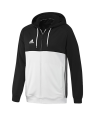 adidas T16 Hoody MEN schwarz/weiss AJ5409 (Bild-1)