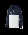 adidas T16 Hoody MEN M blau/weiss AJ5410 (Bild-1)