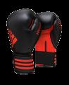 adidas Boxhandschuhe Hybrid 50 schwarz/rot 8oz ADIH50 (Bild-1)