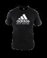 adidas Community T-Shirt Kick Boxing schwarz adiCTKB (Bild-1)