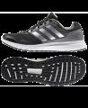 adidas T16 Schuhe Core Duramo 7 m UK8,5 EU42 2/3 schwarz/silber/grau B33550 (Bild-1)
