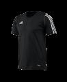 adidas T12 Team Shirt men SS Kurzarm schwarz adi X12935 (Bild-1)