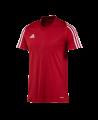 adidas T12 Clima Cool T-Shirt men Gr.08 Kurzarm rot L adi X12941 (Bild-1)