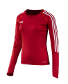 adidas T12 Clima Cool Shirt Langarm WOMAN Gr.32 rot XS adi X13171 (Bild-1)