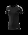 adidas T12 Team Shirt woman SS Kurzarm schwarz adi X13800 (Bild-1)
