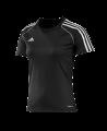 adidas T12 Clima Cool Shirt Kurzarm WOMAN schwarz adi X13853 (Bild-1)