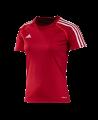 adidas T12 Clima Cool Shirt Kurzarm WOMAN Gr.44 rot L adi X13855 (Bild-1)