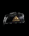 adidas WAKO Sporttasche Zipper Bag 2 in 1 schwarz/gold adiACC051 (Bild-1)