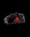 adidas WAKO Sporttasche Zipper Bag 2 in 1 schwarz/rot adiACC051 (Bild-1)