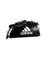 adidas WAKO Sporttasche Zipper Bag 2 in 1 schwarz/weiss adiACC051 (Bild-1)