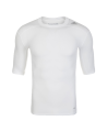 adidas Compression Shirt TECHFIT Base SS Kurzarm weiss XS AJ4967 (Bild-1)