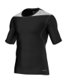 adidas Compression Shirt TECHFIT Base Kurzarm schwarz XS D82011 (Bild-1)