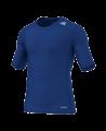 adidas Compression Shirt TECHFIT Base SS Kurzarm blau XS AJ4971 (Bild-1)