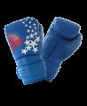 adidas PATRIOT Hybrid 300 Boxhandschuhe blau/rot 14 oz adiH300 (Bild-1)