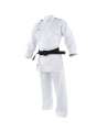 adidas K191SK Kumite Karate Anzug adiLight 155cm mit blauen Schulterstreifen (Bild-1)
