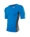 adidas Transition Rashguard S/S L blau/grau adiMMAR06 (Bild-1)