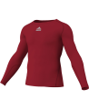 adidas Compression Shirt TF C&S LS rot adiP92261 (Bild-1)