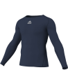adidas Compression Shirt TF C&S LS blau adiP92266 (Bild-1)