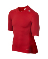 adidas Compression Shirt TECHFIT Base SS Kurzarm rot XXL AJ4968 (Bild-1)