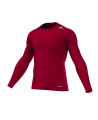 adidas TECHFIT Langarm TF BASE LS rot L AJ5015 Compression Shirt (Bild-1)