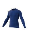adidas TECHFIT Langarm TF BASE LS blau AJ5018 Compression Shirt (Bild-1)