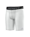 adidas TECHFIT Short TF BASE ST weiss XL AJ5038 Compression tight (Bild-1)
