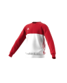 Adidas T16 CREW SWEATER YOUTH rot/weiss AJ5267 (Bild-1)