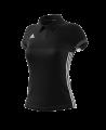 adidas T16 TEAM POLO WOMAN size XS schwarz/grau AJ5273 (Bild-1)