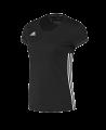 adidas T16 TEAM TEE WOMAN schwarz AJ5301 (Bild-1)