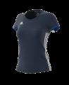 adidas T16 TEAM TEE WOMAN blau size XL AJ5302 (Bild-1)