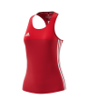 adidas T16 Clima Cool SL TEE WOMAN size S rot AJ5455 (Bild-1)