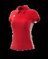 adidas T16 Climacool Polo Shirt WOMAN rot AJ5477 (Bild-1)