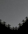 FW Sportmatte Cushion 40mm 1x1m grau/schwarz Puzzle Wendematte (Bild-1)