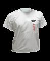 T-Shirt Aikido M grau mit Bestickung (Bild-1)