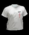 T-Shirt Hapkido M grau mit Bestickung (Bild-1)