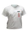 T-Shirt Ju Jutsu grau mit Bestickung (Bild-1)